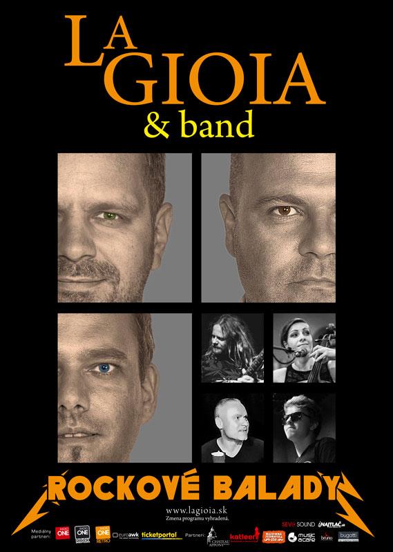picture La Gioia & Band - Rockové balady
