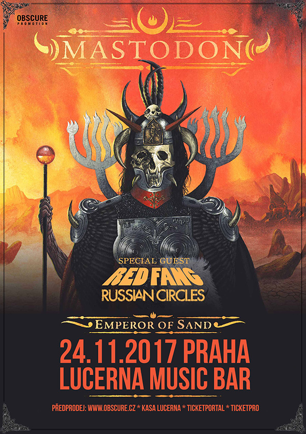 picture MASTODON + RED FANG + RUSSIAN CIRCLES