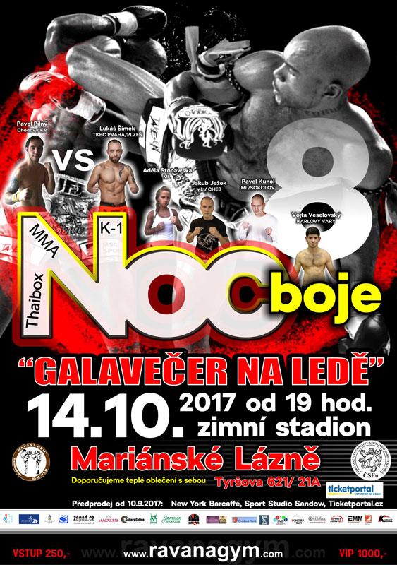 picture NOC BOJE 8. - Galavečer Thaiboxu, K-1, MMA