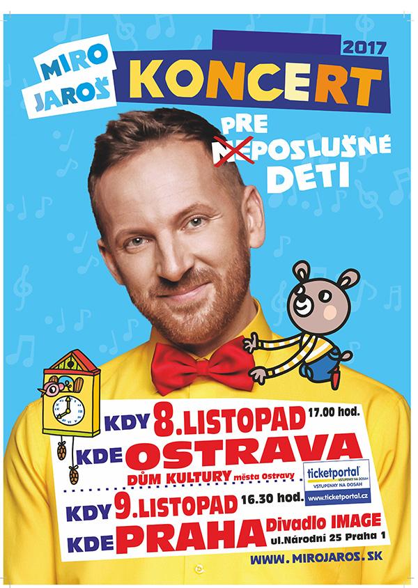 picture Miro Jaroš - Koncert pro (ne)poslušné děti