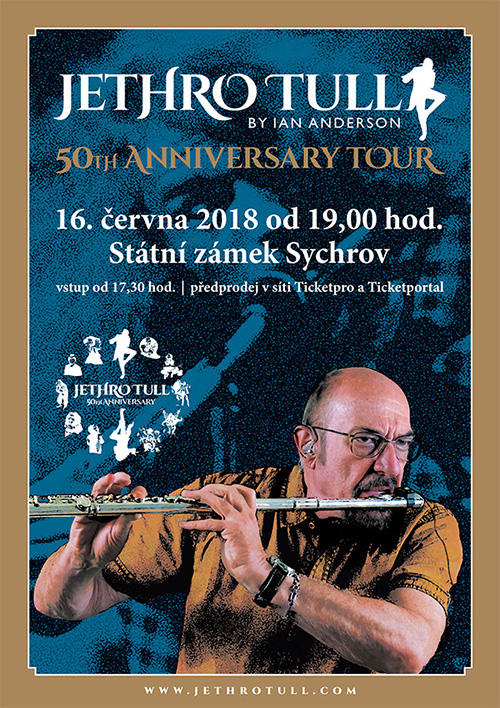 picture IAN ANDERSON presents JETHRO TULL - TOUR 2018