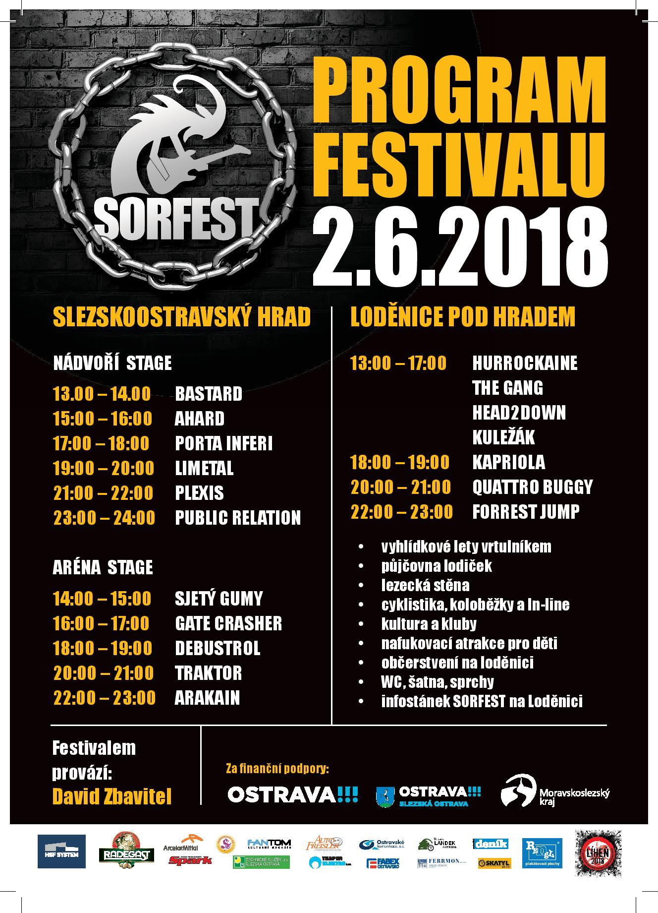 picture Slezskoostravský Rock-Fest 2018 Open Air
