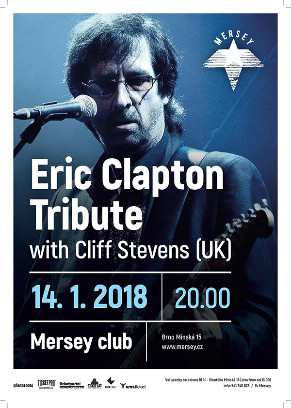 picture Eric Clapton Tribute with Cliff Stevens (UK)