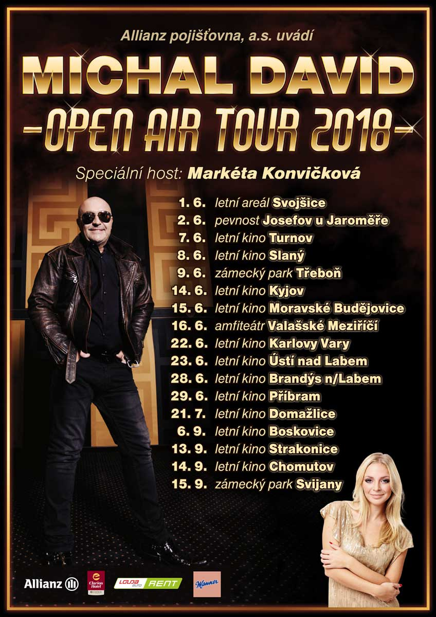 picture Michal David OPEN AIR TOUR 2018