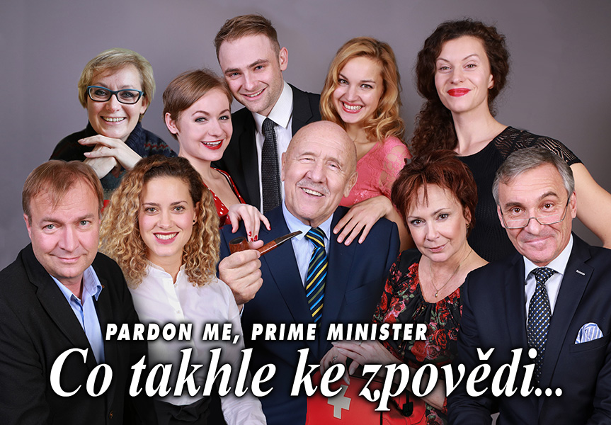 picture PARDON ME, PRIME MINISTER / CO TAKHLE KE ZPOVĚDI..