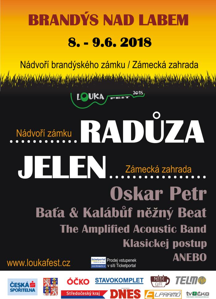 picture LOUKA FEST 2018, open air festival v Brandýse n/L.