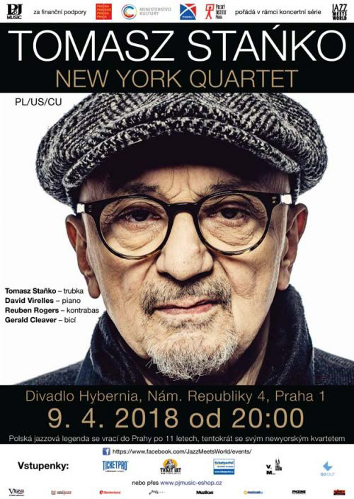 picture TOMASZ STAŃKO NEW YORK QUARTET (PL/ US/ CU)