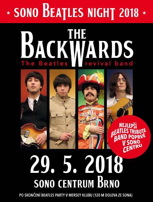 picture SONO BEATLES NIGHT 2018 with The Backwards (SK)