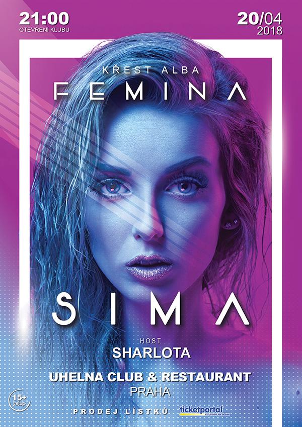 picture SIMA / křest alba Femina