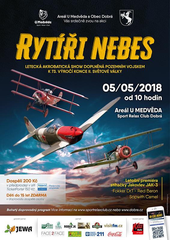 picture RYTÍŘI NEBES letecká akrobatická show