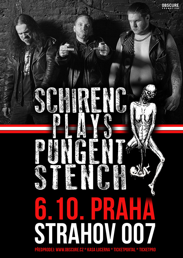 picture SCHIRENC PLAYS PUNGENT STENCH (AT)