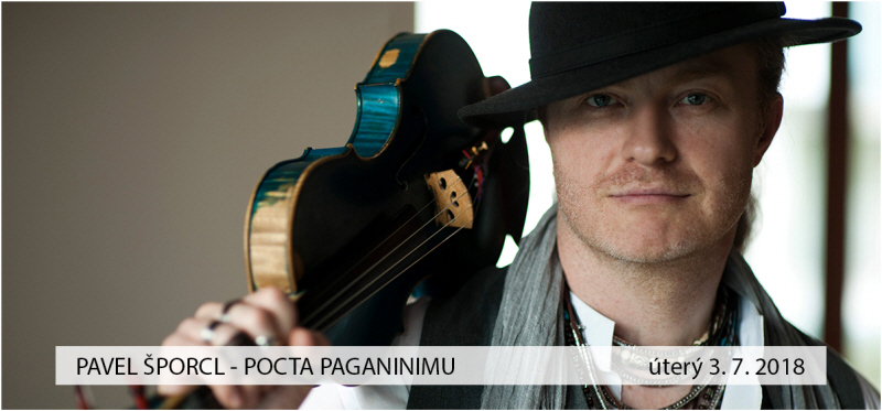 picture PAVEL ŠPORCL - POCTA PAGANINIMU, Křižanské léto