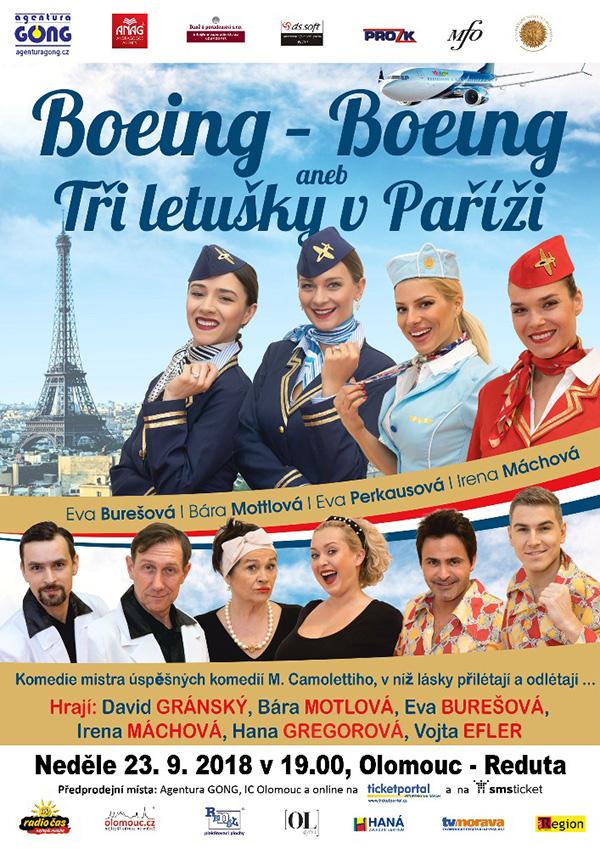 picture Boeing - Boeing aneb Tři letušky v Paříži