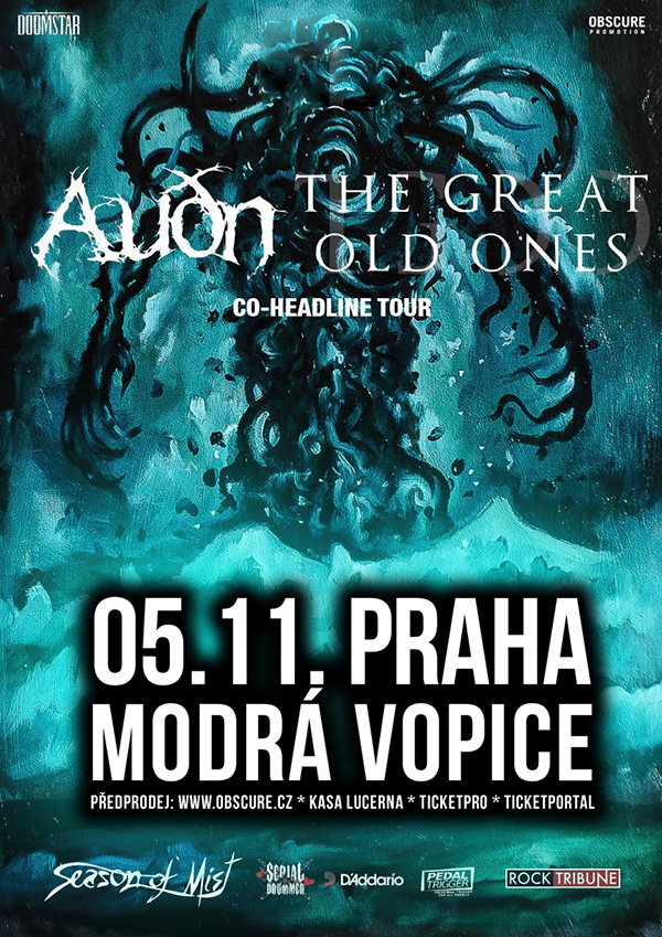 picture AUDN (IS) + THE GREAT OLD ONES (FR)