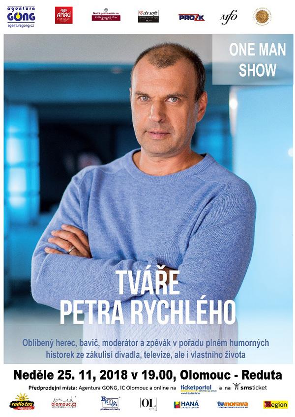 picture Tváře Petra Rychlého - One Man Show