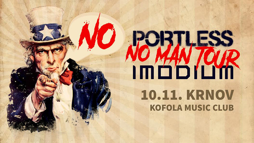 picture PORTLESS & IMODIUM – NO MAN TOUR 2018