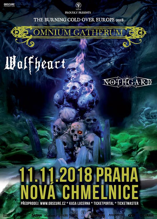 picture OMNIUM GATHERUM + WOLFHEART + NOTHGARD