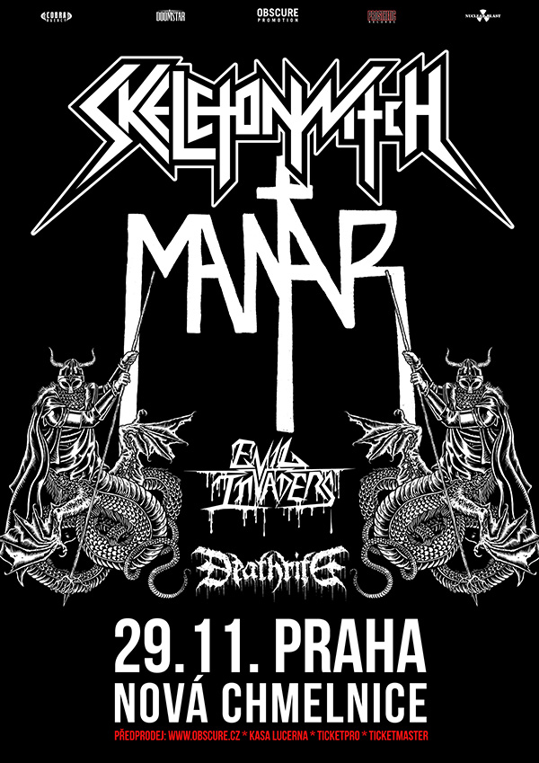 picture SKELETONWITCH (US) + MANTAR (DE)
