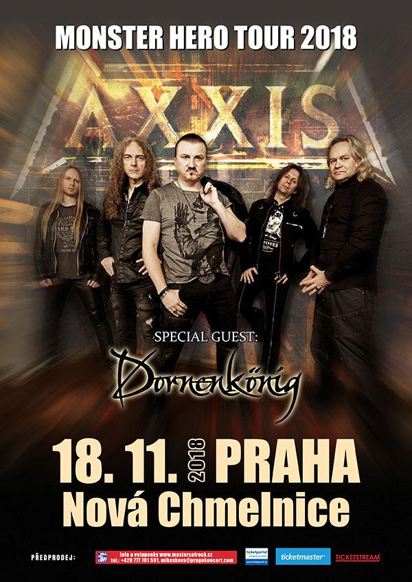 picture AXXIS (DE) - MONSTER HERO TOUR 2018