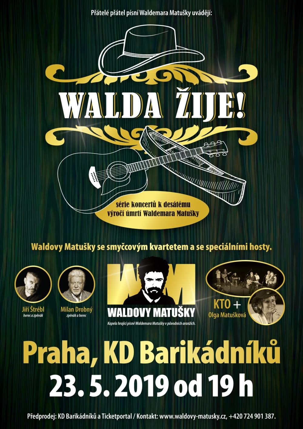 picture WALDOVY MATUŠKY - Walda žije!