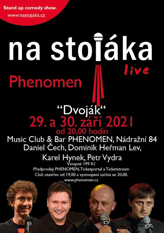 picture Na stojáka - live ve PHENOMEN Music Baru