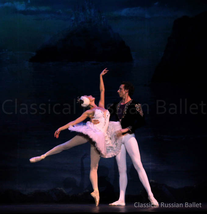 picture CLASSICAL RUSSIAN BALLET (MOSCOW) - LABUTÍ JEZERO