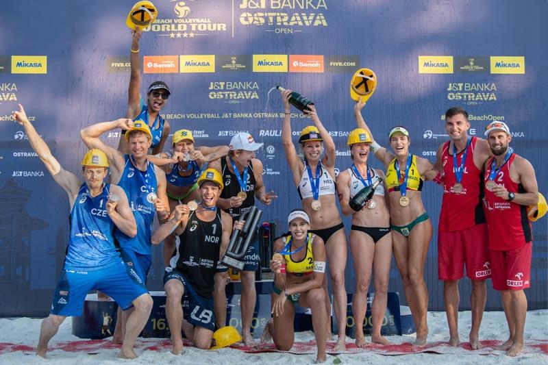 picture J&T Banka Ostrava Beach Open