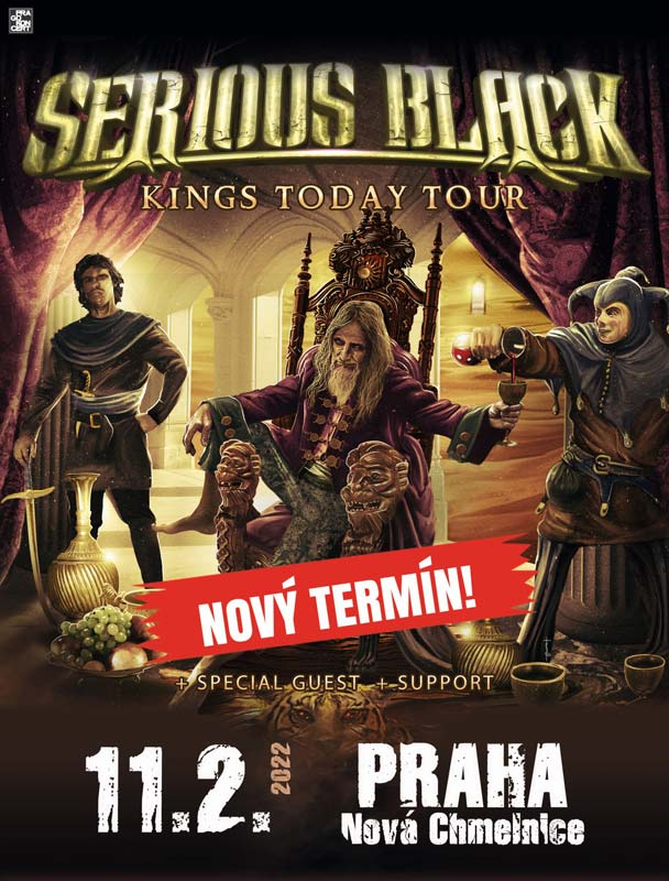 picture SERIOUS BLACK - Kings Today Tour