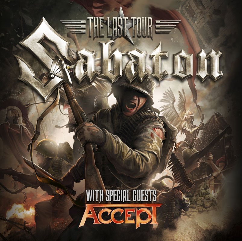 picture SABATON (Swe): The Last Tour 2017 w/ ACCEPT (Ger)