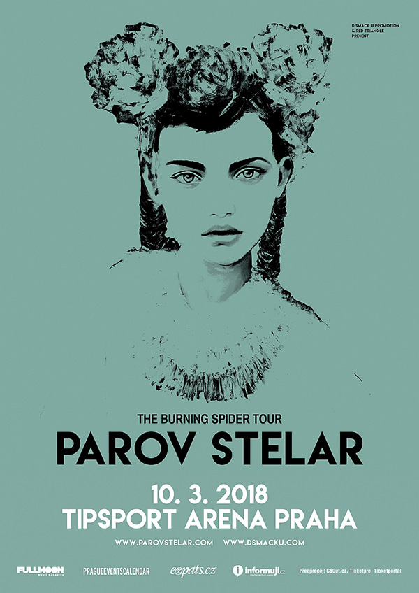picture PAROV STELAR – THE BURNING SPIDER TOUR