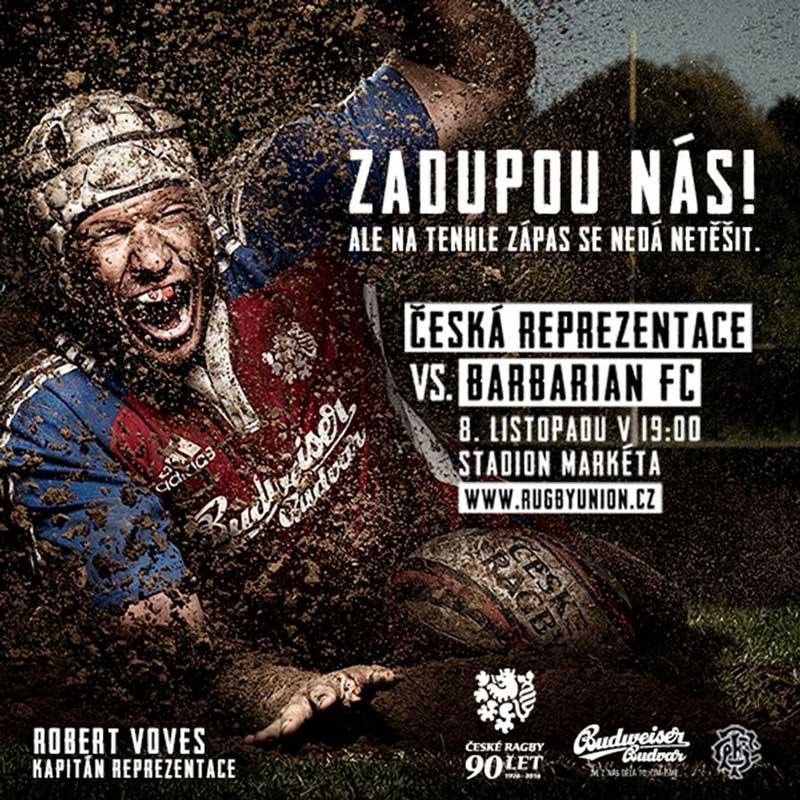 picture Česká reprezentace x Barbarian FC