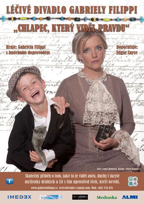 picture Léčivé divadlo - Chlapec,který viděl pravdu