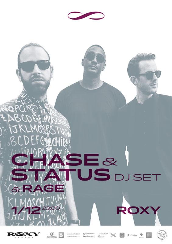 picture CHASE and STATUS dj set & MC Rage (UK)