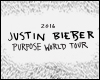 JUSTIN BIEBER - PURPOSE WORLD TOUR