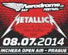 AERODROME Festival July METALLICA & Guests