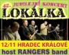 42. jubilejní koncert LOKÁLKA, host RANGERS band
