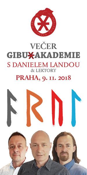 VEČER GIBU AKADEMIE - DANIEL LANDA 2018_300x600