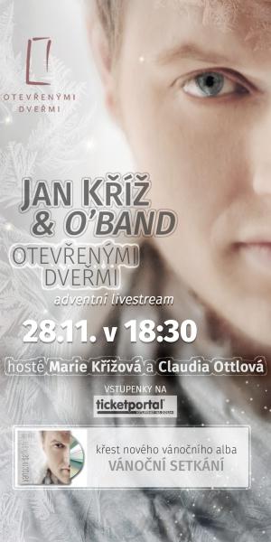 JAN KŘÍŽ LIVE STREAM 2020_300x600