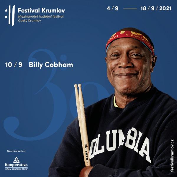 Legenda jazzu Billy Cobham