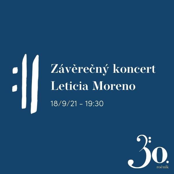 Závěrečný koncert - Leticia Moreno