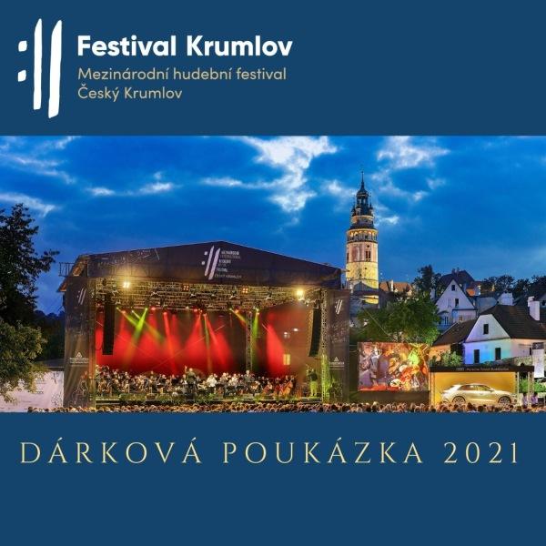MHF Český Krumlov - DÁRKOVÁ POUKÁZKA 2021