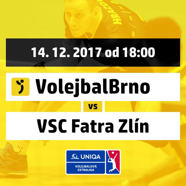 Volejbal Brno - VSC Fatra Zlín