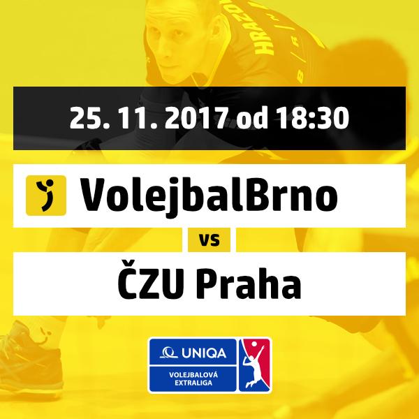 Volejbal Brno - Volley Team ČZU Praha