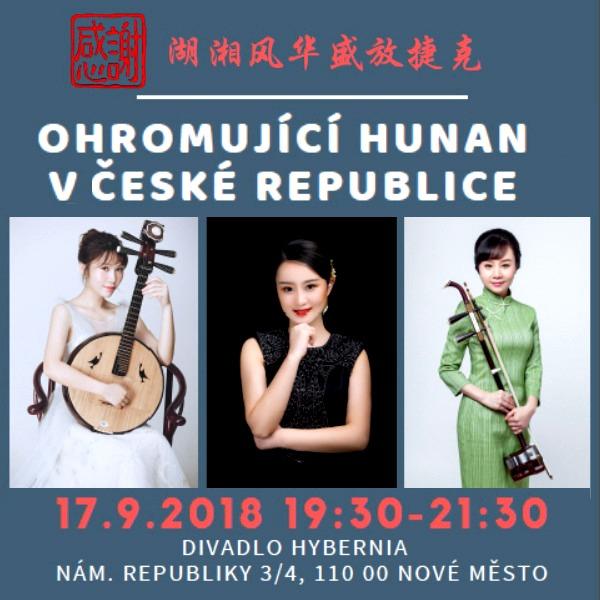 OHROMUJÍCÍ HUNAN V ČESKÉ REPUBLICE