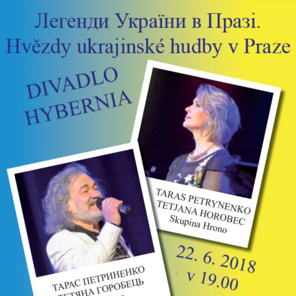Hvězdy Ukrajiny TARAS PETRYNENKO A TETJANA HOROBEC