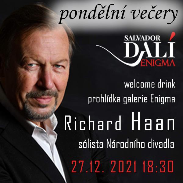 Pondělní večery - host Richard Haan