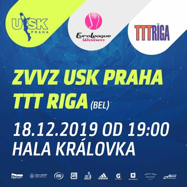 ZVVZ USK Praha - TTT Riga