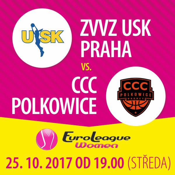 ZVVZ USK PRAHA - CCC Polkowice