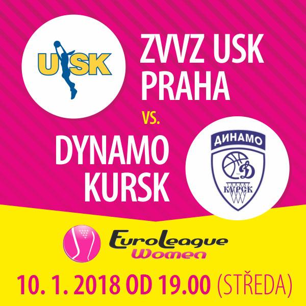 ZVVZ USK Praha - Dynamo Kursk