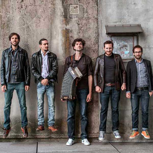 Shalosh/ Vincent Peirani Quintet